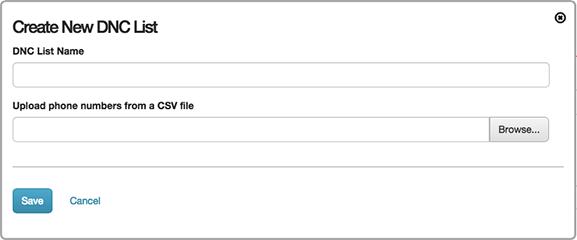 図は、DNC ファイルをアップロードを選択し名前を入力に使用するダイアログを示しています。
