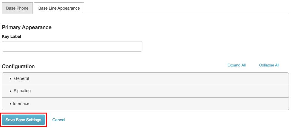 PureCloud ソフトフォンベース回線 保存