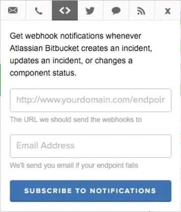 StatusPage Webhookフィールド
