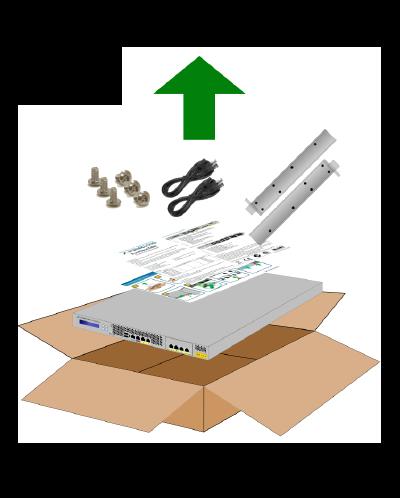 ボックス化解除手順を示す図