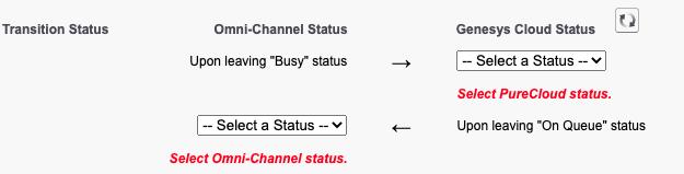 オムニチャネル同期を有効にするというエラーメッセージ