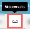 この画像はボイスメールアイコンを示しています。