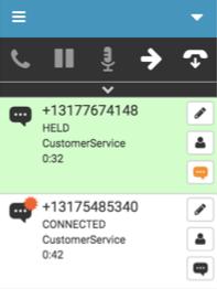 SMSインタラクションに関する通知