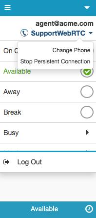 Firefoxの電話名の下の設定