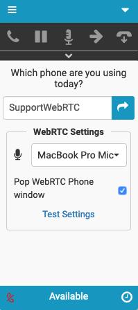 Firefoxを使用したPureCloud for Zendesk WebRTC設定