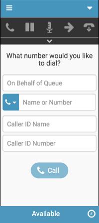 発信者番号通知付きの通話のための新しいインタラクションウィンドウ