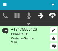 SMSメッセージインタラクション接続
