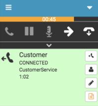 タイマーに接続された発信ダイヤル操作番号